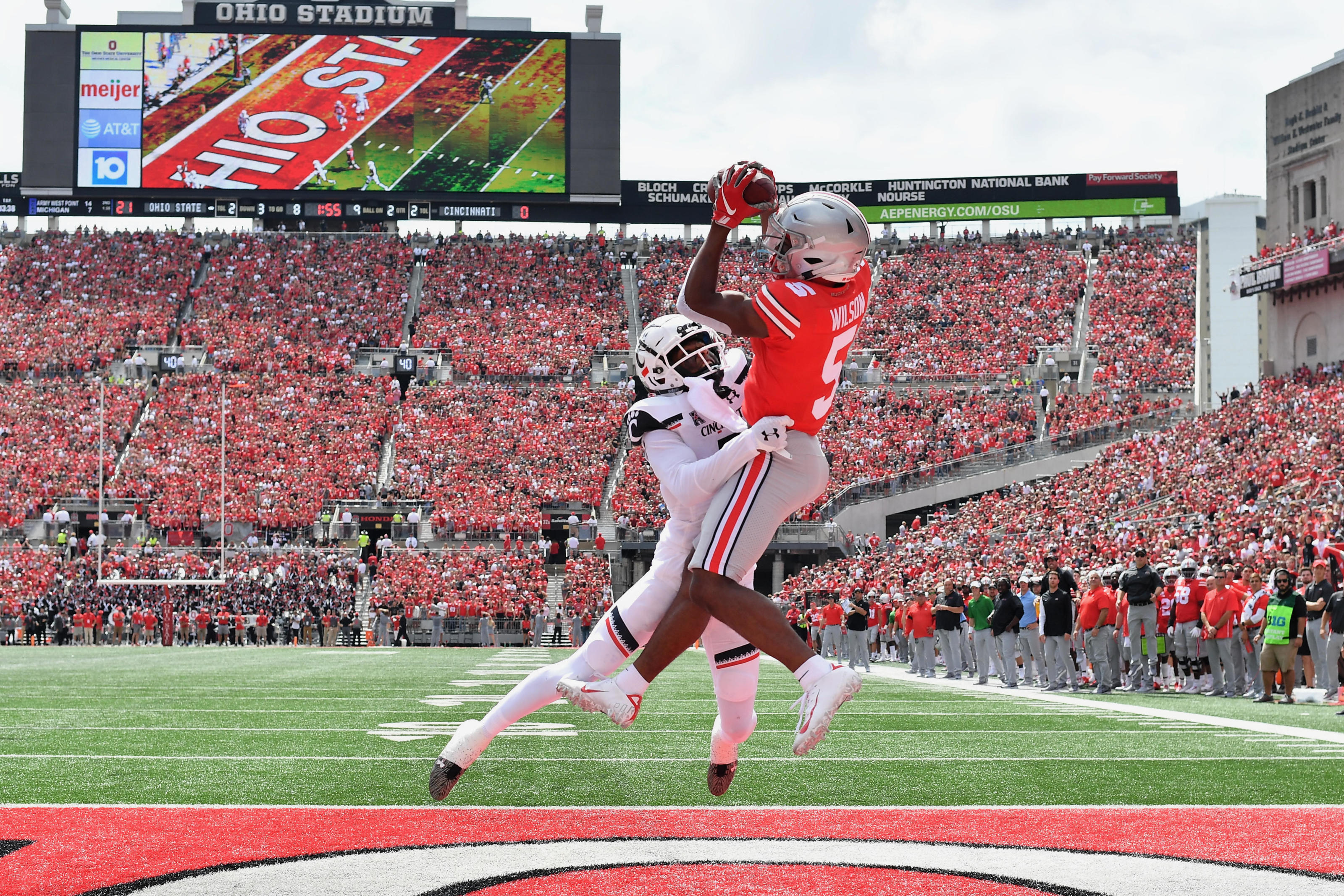 Ohio State Football Garrett Wilson Projected To Be A Top Wr Superstar